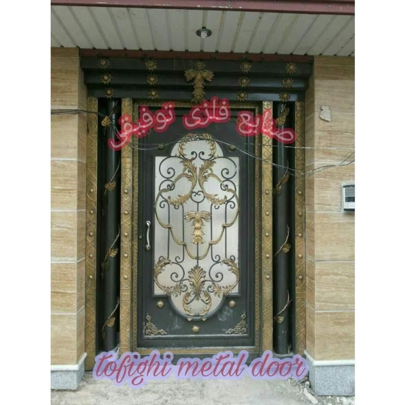 درب فلزی ورودی ساختمان کد ۱۸۴