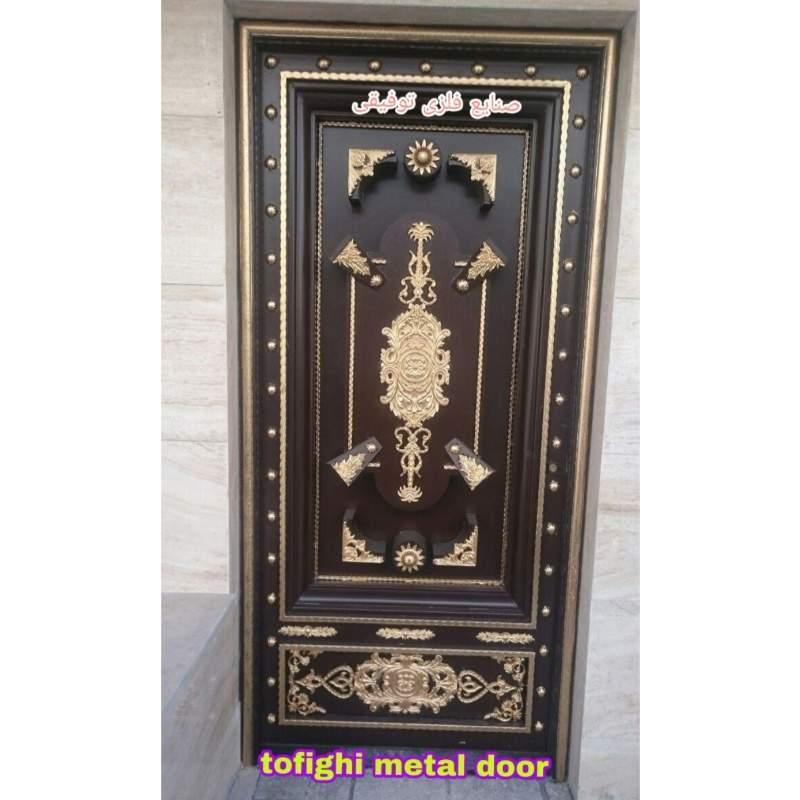 درب فلزی ورودی ساختمان کد ۱۸۶