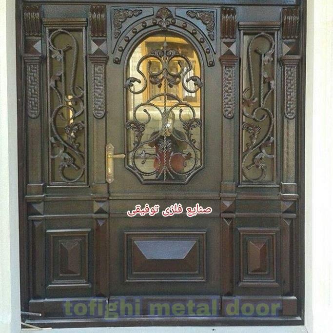 درب فلزی لابی کد ۲۴۳