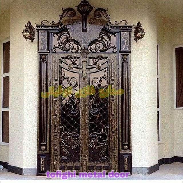 درب فلزی ورودی ساختمان کد ۲۴۶