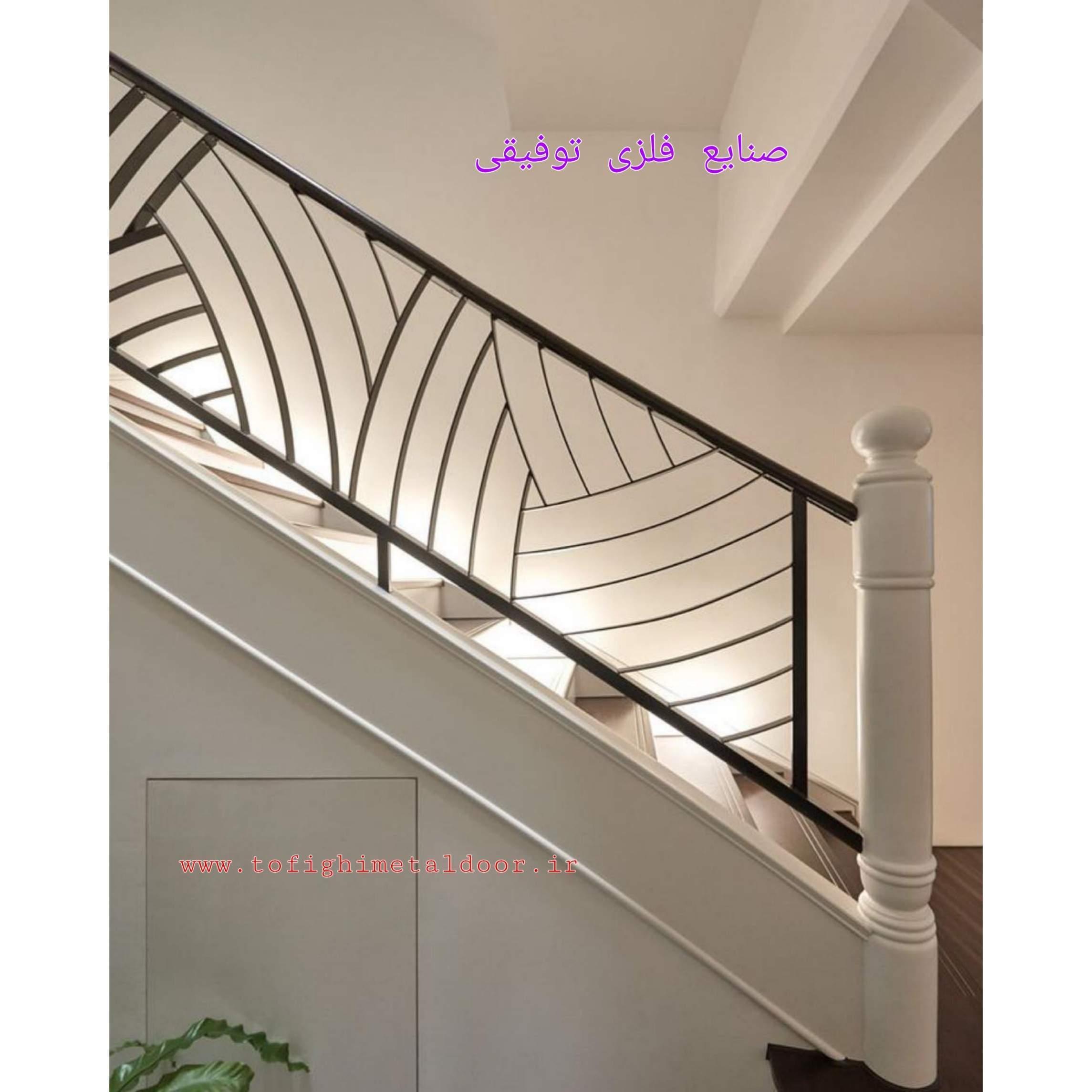 نرده راه پله کد ۷۹۶