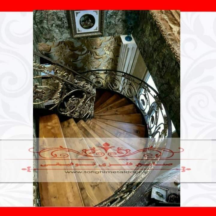 نرده پله دوبلکس کد ۸۱۵