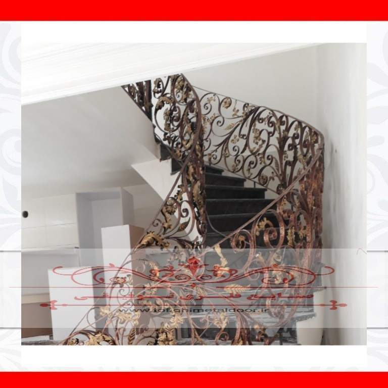 نرده فرفورژه لوکس دست ساز کد ۸۵۵