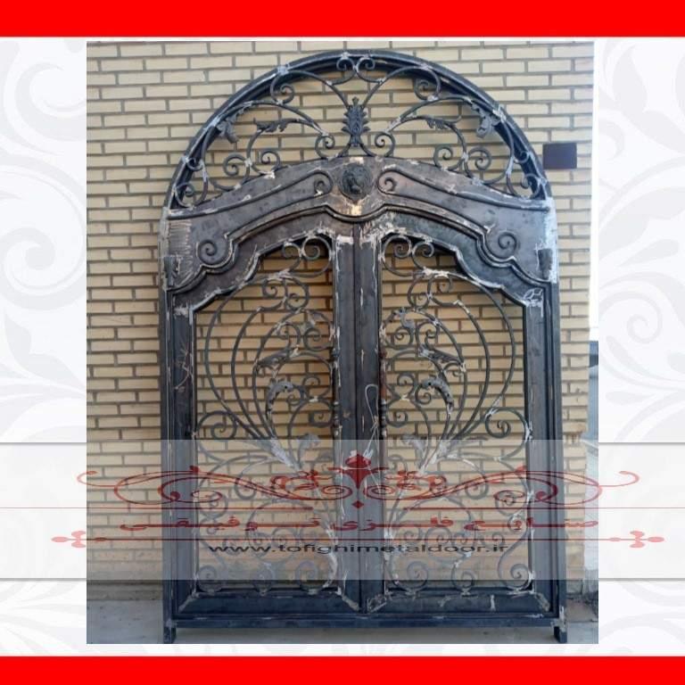 درب فلزی لوکس ورودی لابی کد ۸۷۰