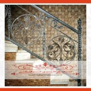 نرده فرفورژه راه پله کد ۹۱۱
