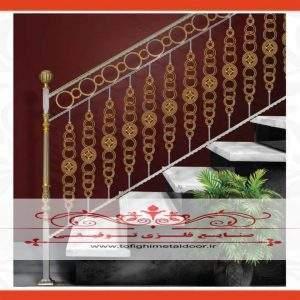 نرده راه پله فرفورژه کد ۹۱۶