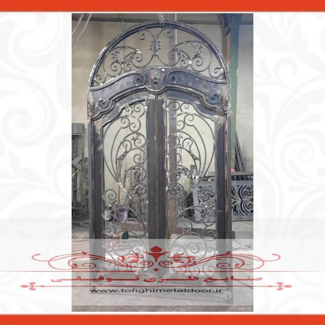 درب فلزی لوکس لابی کد ۹۲۱